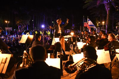 Symphony under the stars at 'Latin Night'