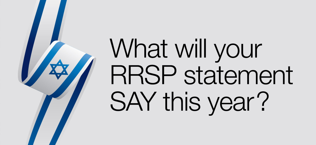 What will your RRSP statement SAY this year?