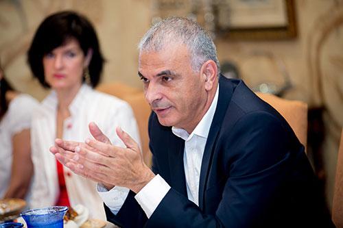 Israel Finance Minister Moshe Kahlon