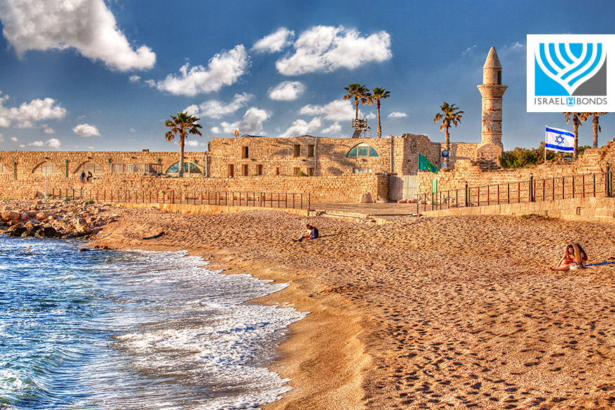Caesarea National Park on Israel's Mediterranean coast