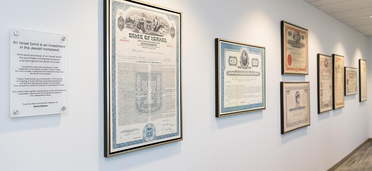 Israel Bonds Investment Certificat Exhibit