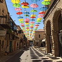 Umbrellas Jerusalem
