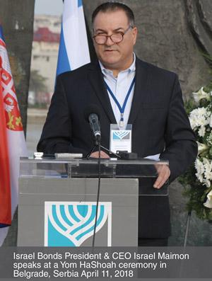 Israel Maimon in Belgrade