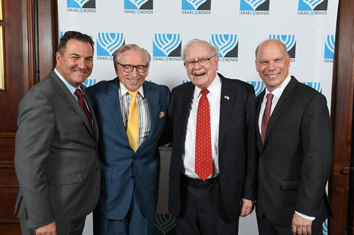 "Warren Buffett: Owning Israel Bonds ""Is a Statement"""