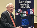 "Warren Buffett emphasized ""I'm delighted to own Israel bonds"""
