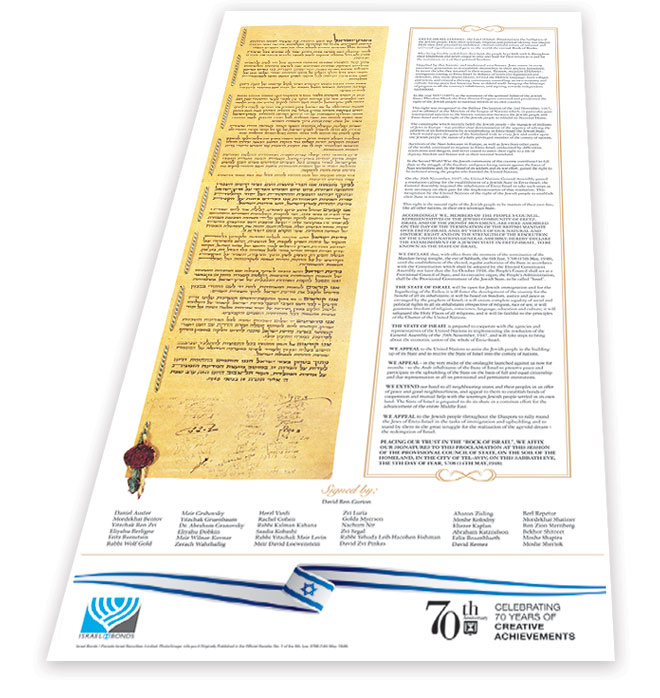 Commemorative Declaration of Independence