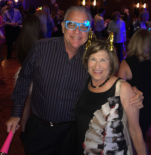 David and Ruth Naftaly celebrate Yom Ha'atzmaut at the Israel Bonds gala 70th anniversary party in Tel Aviv (Photo:Yossi Zamir)
