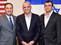 Israel Bonds Proudly Welcomes Finance Minister Moshe Kahlon and Finance Ministry Director General Shai Babad to its New York Headquarters