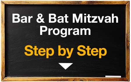 Bar & Bat Mitzvah Program ---step-by-step